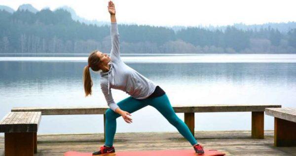 کاهش وزن نرمش 600x316 - ۵ دستورالعمل ساده برای تحرک بدن