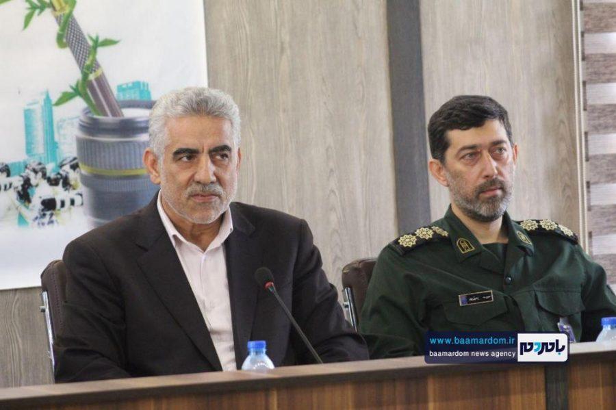 از خبرنگاران گیلانی در املش 15 - گزارش تصویری تجلیل از خبرنگاران در فرمانداری املش