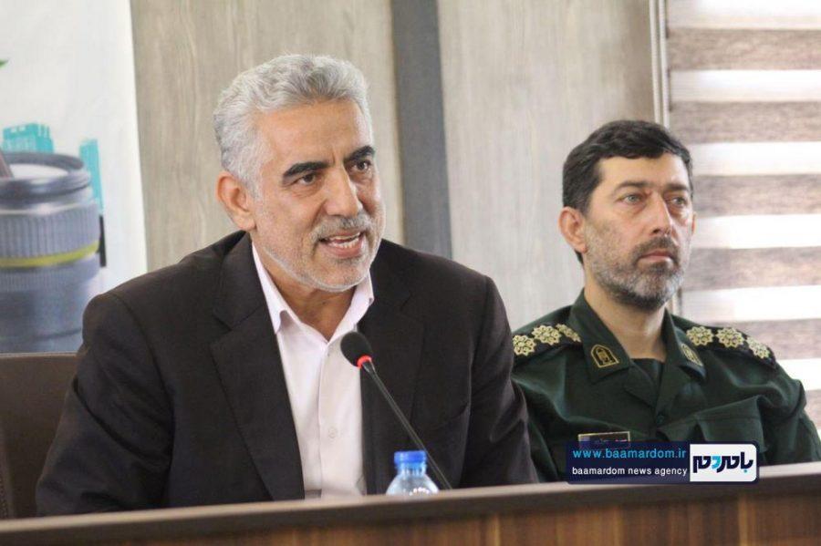 از خبرنگاران گیلانی در املش 18 - گزارش تصویری تجلیل از خبرنگاران در فرمانداری املش
