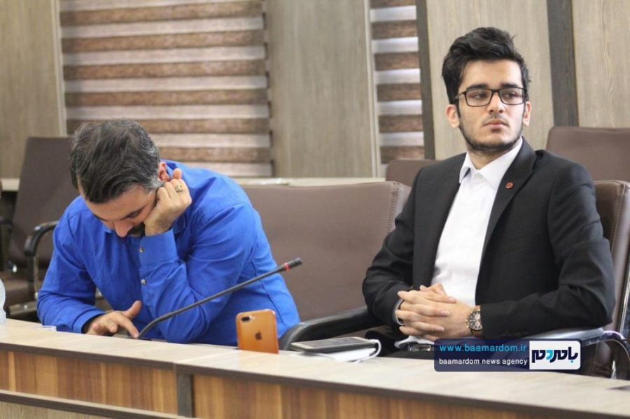 از خبرنگاران گیلانی در املش 2 - گزارش تصویری تجلیل از خبرنگاران در فرمانداری املش