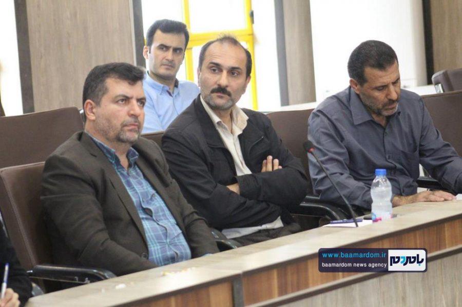 از خبرنگاران گیلانی در املش 4 - گزارش تصویری تجلیل از خبرنگاران در فرمانداری املش