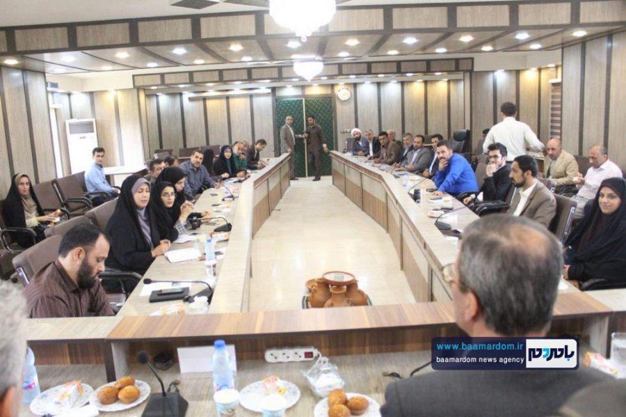 از خبرنگاران گیلانی در املش 5 - گزارش تصویری تجلیل از خبرنگاران در فرمانداری املش