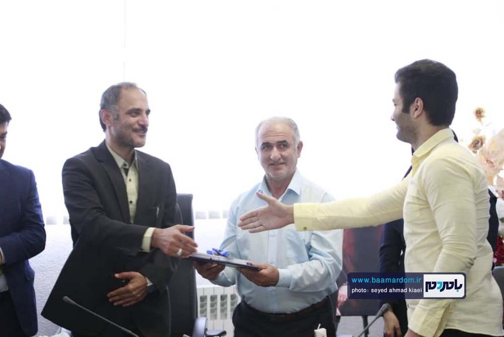 تجلیل از خبرنگاران در شهرداری بندر کیاشهر 11 - گزارش تصویری مراسم تجلیل از خبرنگاران در شهرداری بندر کیاشهر
