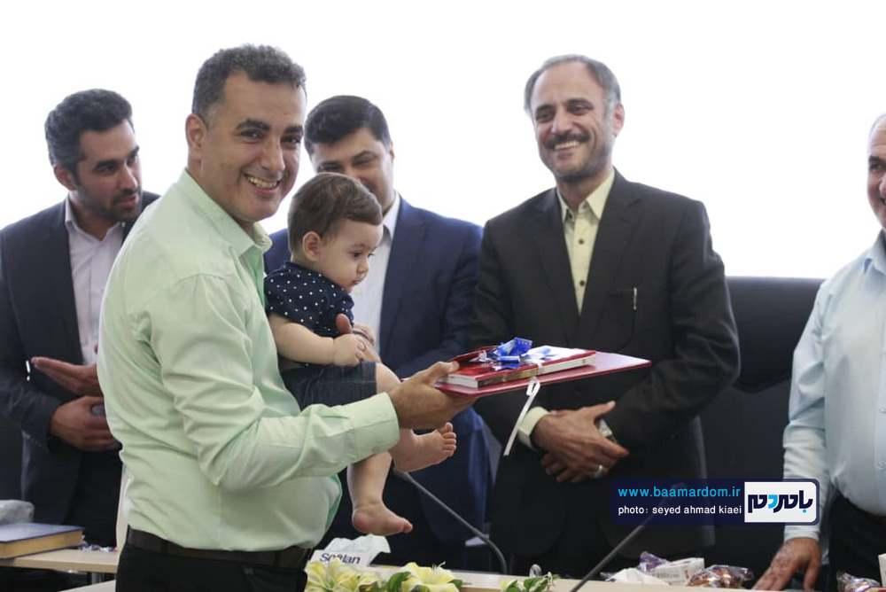 تجلیل از خبرنگاران در شهرداری بندر کیاشهر 3 - گزارش تصویری مراسم تجلیل از خبرنگاران در شهرداری بندر کیاشهر