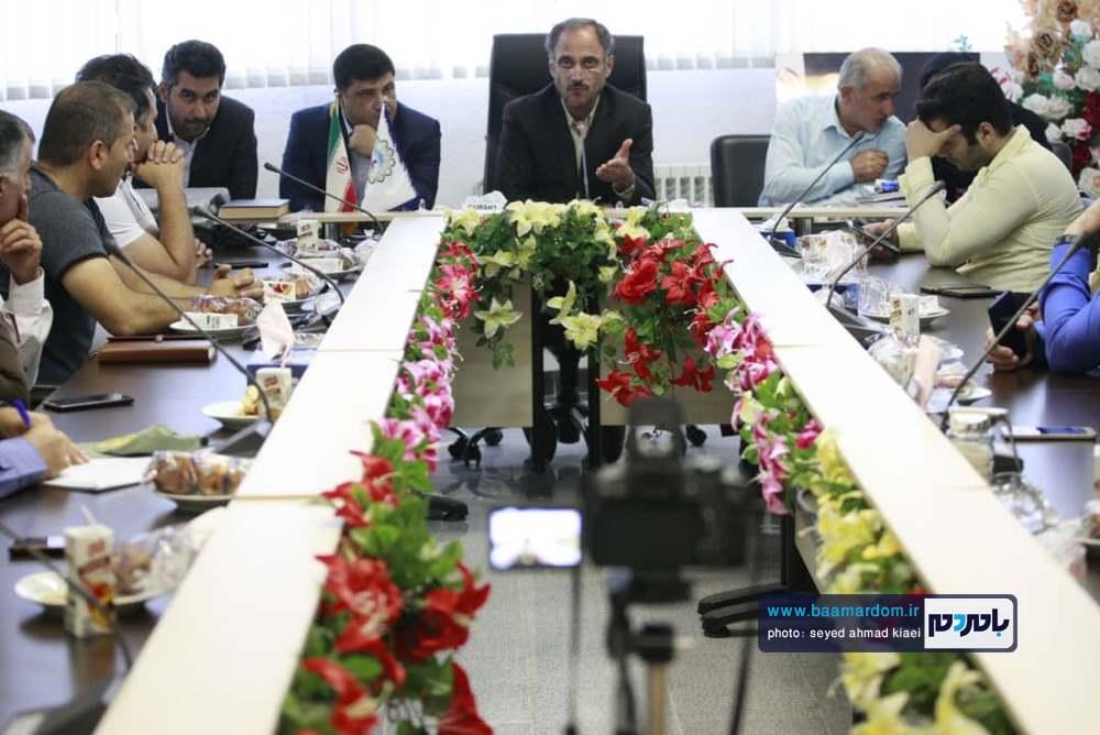 تجلیل از خبرنگاران در شهرداری بندر کیاشهر 7 - گزارش تصویری مراسم تجلیل از خبرنگاران در شهرداری بندر کیاشهر