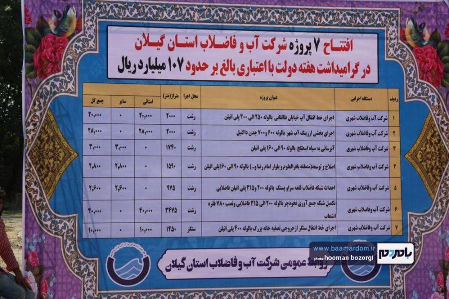 روز از هفته دولت در رشت 1 - گزارش تصویری نخستین روز از هفته دولت در رشت