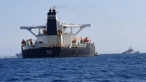 ایران 600x338 - حرکت نفتکش ایران از جبل الطارق پس از ۴۵ روز