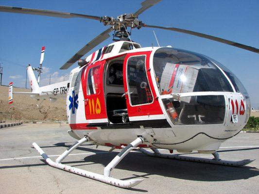اورژانس هوایی 533x400 - افتتاح اورژانس هوایی گیلان تا چند روز دیگر
