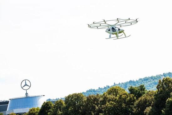هوایی در اروپا - اولین آزمایش موفق تاکسی هوایی در اروپا