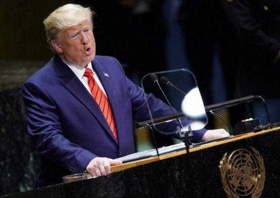 ترامپ 3 566x400 - تحریمهای فلجکنندهای علیه ایران وضع کردیم