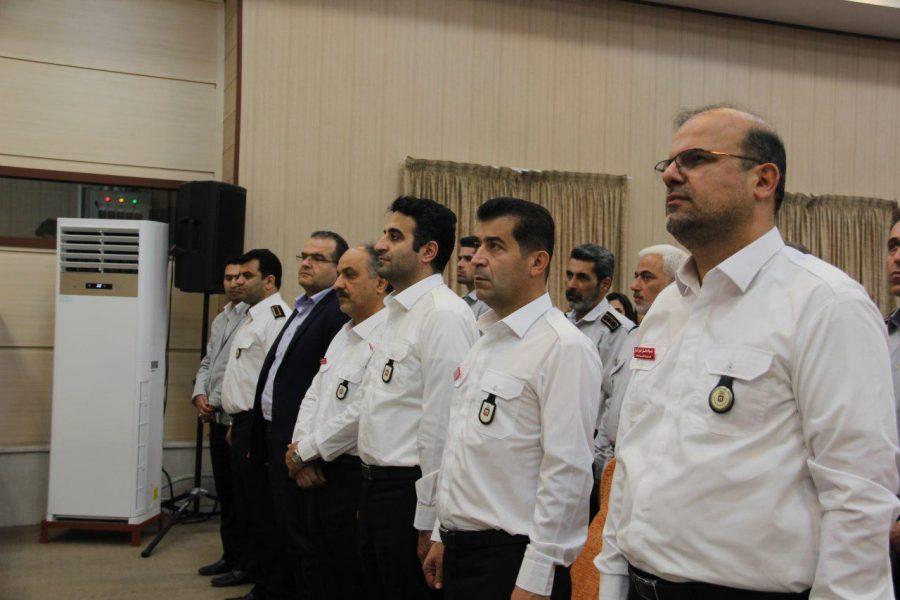 روز آتش نشانی و ایمنی ویژه برنامههای این روز در لاهیجان 1 - حضور شهردار و اعضای شورای شهر لاهیجان با لباس آتشنشانی در ویژه برنامههای این روز + تصاویر