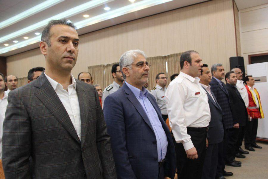 روز آتش نشانی و ایمنی ویژه برنامههای این روز در لاهیجان 2 - حضور شهردار و اعضای شورای شهر لاهیجان با لباس آتشنشانی در ویژه برنامههای این روز + تصاویر