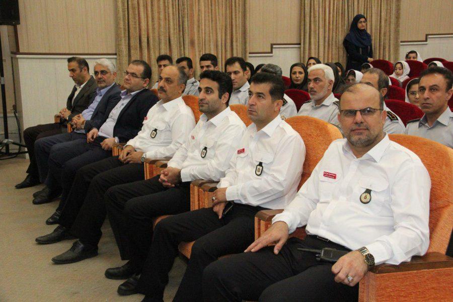 روز آتش نشانی و ایمنی ویژه برنامههای این روز در لاهیجان 3 - حضور شهردار و اعضای شورای شهر لاهیجان با لباس آتشنشانی در ویژه برنامههای این روز + تصاویر