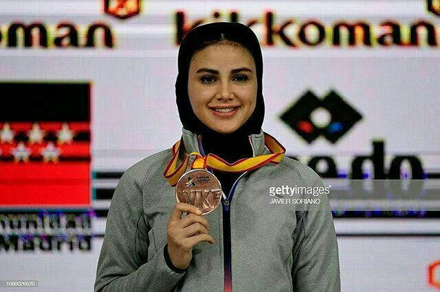 مدال طلای کاراته کای گیلانی در مسابقات لیگ جهانی