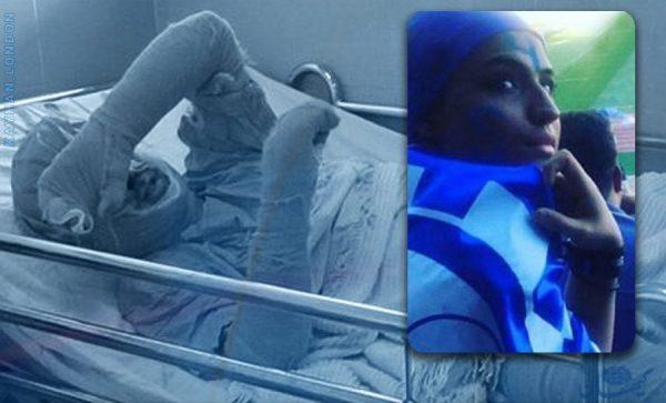 دختر آبی 1 600x363 - سحر؛ «دختر آبی» درگذشت