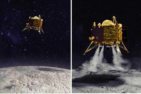 کاوشگر هندی روی کره ماه پیدا شد+عکس