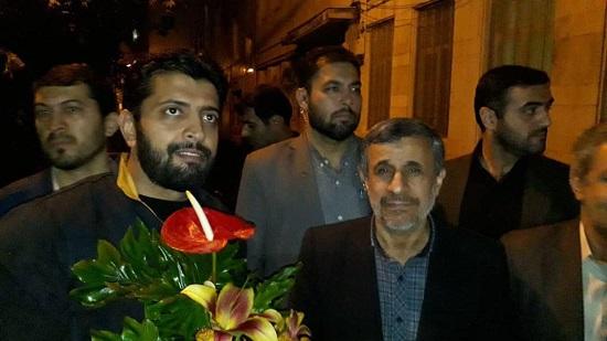 تولد احمدینژاد در جمع هوادارانش 6 - جشن تولد احمدینژاد در جمع هوادارانش +عکس