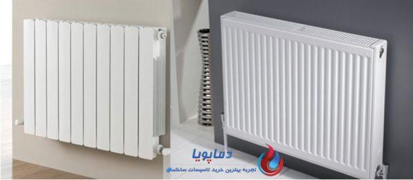 پنلی چیست و تفات آن با پره ای 1 600x262 - رادیاتور پنلی چیست و تفات آن با پره ای