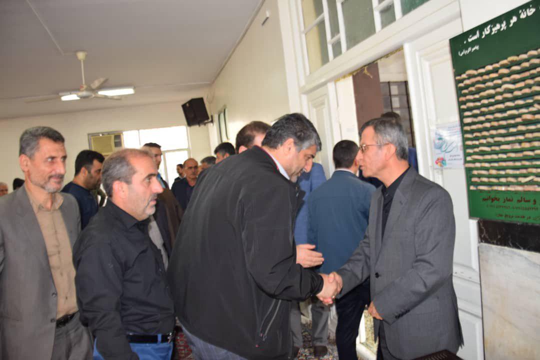 مراسم یادبود پدر فرماندار شهرستان املش برگزار شد+ گزارش تصویری