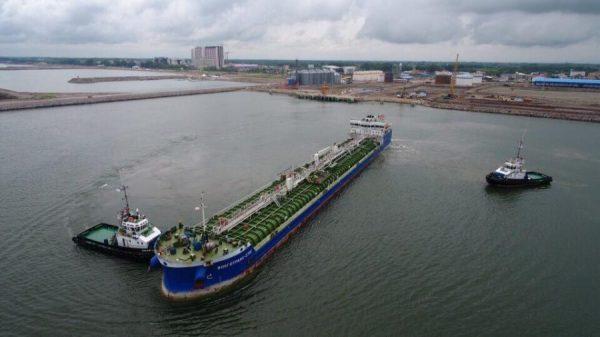 ورود ۴۰ فروند کشتی تجاری به مجتمع بندری کاسپین در شش ماهه نخست سال جاری 1 600x337 - ورود ۴۰ فروند کشتی تجاری به مجتمع بندری کاسپین در شش ماهه نخست سال جاری