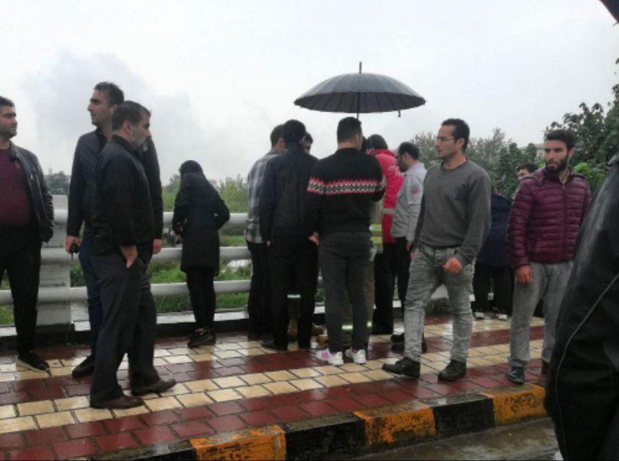 پیدا شدن جسد یک مرد در زیر پل رزمندگان لاهیجان