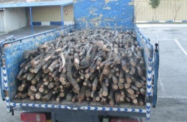 کشف ۱۰ تن چوب قاچاق در سیاهکل