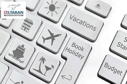 1 - نحوه رزرو هتل و بلیط هواپیما خارجی به صورت آنلاین