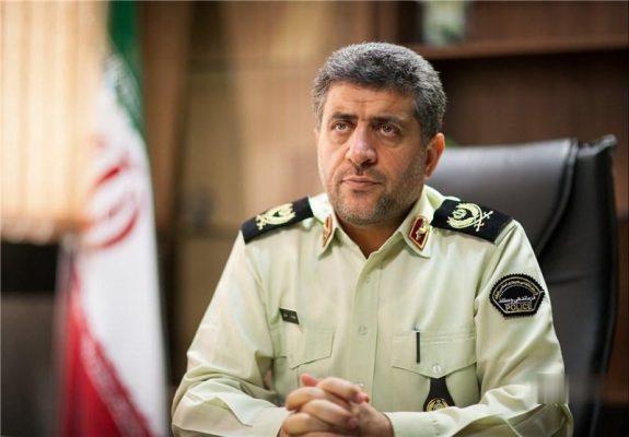 سرتیپ دوم عزیزالله ملکی 2 575x400 - سارقان ۵۰ میلیاردی رشت در یکی از استان های مرکزی دستگیر شدند