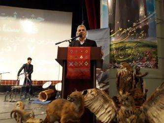 گزارش تصویری جشن ثبت ملی قله سماموس بلندترین قله استان گیلان