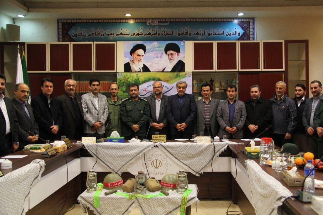 گزارش تصویری سی و ششمین جلسه شورای شهر لاهیجان 6 - گزارش تصویری سی و ششمین جلسه شورای شهر لاهیجان