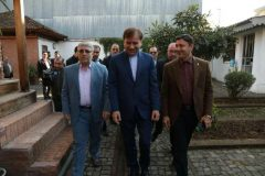 بازدید استاندار گیلان و شهردار رشت از خانه میرزا کوچک خان جنگلی + تصاویر