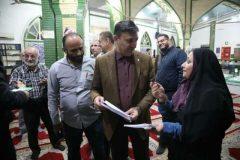 دیدار شهردار رشت با مردم در حسینیه سپاه رشت + تصاویر