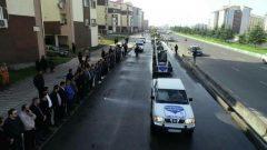 رژه خودرویی عملیات زمستانی شهرداری رشت انجام شد + تصاویر