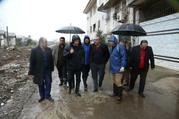 photo 2019 12 07 19 22 00 600x400 - بارش شدید باران و پس زدن فاضلاب اهالی چند محله رشت را گرفتار کرد