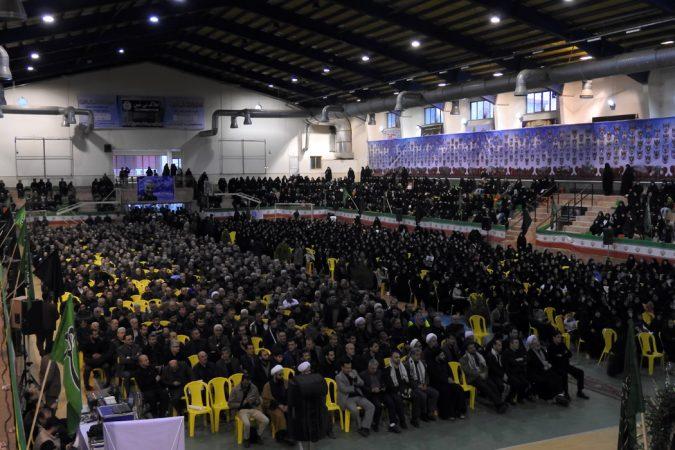 گزارش تصویری اجتماع بزرگ عزاداران و ارادتمندانِ «سپهبد پاسدار شهید حاج قاسم سلیمانی» در شهرستان لاهیجان