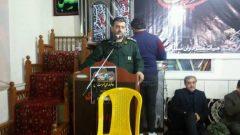 برکزاری مراسم عزاداری شب شهادت حضرت صدیقه کبری فاطمه زهرا (س) در توستان لاهیجان