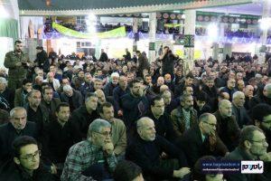 """حضور پرشور و گسترده لنگرودیها در مراسم بزرگداشت سردار دل ها """"حاج قاسم سلیمانی"""" / گزارش تصویری"""