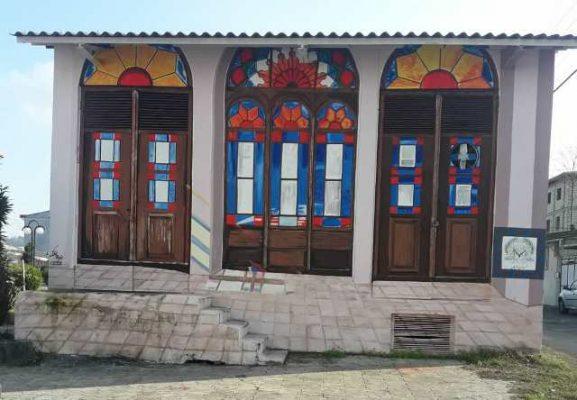 دیوارنگاره های جدید شهرداری لاهیجان 2 577x400 - تصاویری از دیوارنگاره های جدید شهرداری لاهیجان