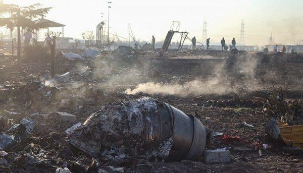 هواپیمای اوکراینی 600x343 - جنگ الکترونیک و حمله سایبری در حادثه هواپیمای اوکراین منتفی است/ نمیشد در کشور حالت فوقالعاده و جنگی اعلام کرد