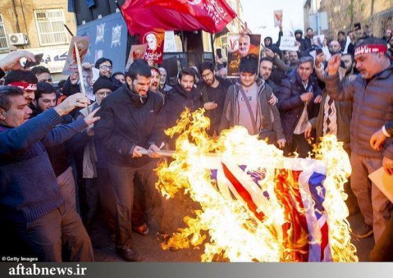 کارخانهای در ایران که پرچمهای آمریکا، انگلیس و اسرائیل را برای آتشزدن میسازد 5 565x400 - کارخانهای در ایران که پرچمهای آمریکا، انگلیس و اسرائیل را برای آتشزدن میسازد+تصاویر