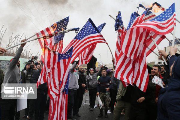 کارخانهای در ایران که پرچمهای آمریکا، انگلیس و اسرائیل را برای آتشزدن میسازد 6 600x400 - کارخانهای در ایران که پرچمهای آمریکا، انگلیس و اسرائیل را برای آتشزدن میسازد+تصاویر