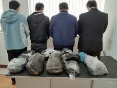 کشف ۵۵ کیلو تریاک در لاهیجان
