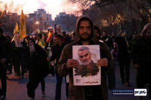 گزارش تصویری مراسم تشییع پیکر سردار شهید قاسم سلیمانی و شهدای مقاومت در تهران / اختصاصی