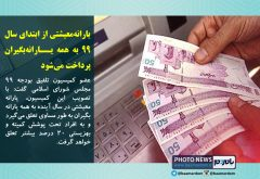 یارانه معیشتی از ابتدای سال ۹۹ به همه یارانهبگیران پرداخت میشود