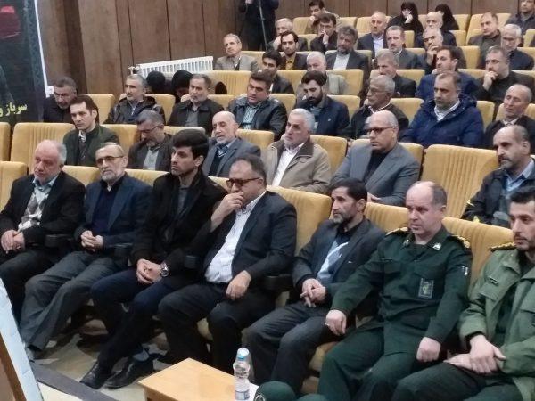 همایش تجلیل از خادمان موکب اربعین حسینی (ع)شهرستان رودسر برگزارشد