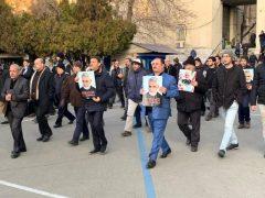 حضور شهردار رشت در مراسم تشیع پیکر پاک سردار سپهبد شهید حاج قاسم سلیمانی در تهران