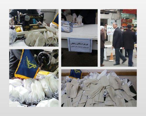 از راه اندازی خط تولید ماسک قابل شستوشو تا اهدای بیش از هزار ماسک و دستکش به شهروندان لاهیجان 500x400 - از راه اندازی خط تولید ماسک قابل شستوشو تا اهدای بیش از هزار ماسک و دستکش به شهروندان لاهیجان