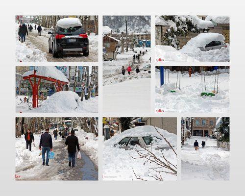 برف لاهیجان 2 1 500x400 - عدم رضایت مردم از مدیریت بحران در لاهیجان / وقتی بحران مدیریت بیداد میکند
