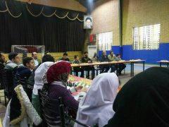برگزاری مسابقات شطرنج سیمولتانه جام فجر در دانشگاه آزاد لاهیجان