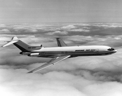 هواپیما بوئینگ 727 1 505x400 - هواپیما بوئینگ 727 و نکاتی درباره تهیه خرید بلیط هواپیما